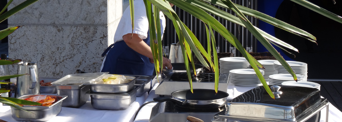 Live cooking